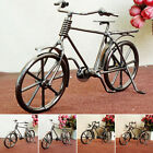 Bicycle Model Bicycle Ornaments Home Office Decoration Accessory Vintage Diy