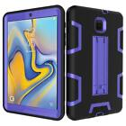 For Samsung Galaxy Tab A 8.0 2018 T387 T387V Tablet Stand Rugged Cover Hard Case