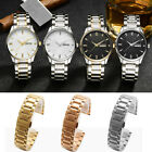 Universal Stainless Steel Watch Band Strap Classic All Match Bracelet Wristband