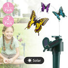 Solar Powered Fluttering Fly Dance Butterfly Garden Yard Balcony Flowerpot Decor