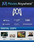 Movies Anywhere - UV - Digital - From 4K UHD and Blu-ray - Many to choose from $10.0 USD on eBay