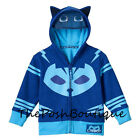 Внешний вид - NWT LICENSED PJ Masks Catboy Boy Girl Costume Hoodie Jacket Mask 2T 3T 4T 5T