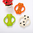 Pet Dog Toy Bite-resistant Molar Latex Bone Ring Bite Toy Interactive Training