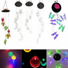 Color Changing Solar LED Wind Chimes Home Yard Garden Window Decor Lights Lamp