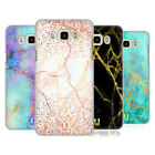 HEAD CASE DESIGNS GLITTERY MARBLE PRINTS HARD BACK CASE FOR SAMSUNG PHONES 3