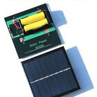 Power Bank Solar Panel Battery Charger AA/AAA 2V/4V Output Charging Practical