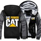 Winter Warm Thicken Caterpillar Power Hoodie Jacket Cosplay Sweater Fleece Coat