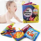Soft Baby Cloth Books With Rustle Sound Musical Toy Safety Baby Educational Toy