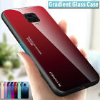 Gradient Tempered Glass Case Cover For Xiaomi Redmi 7A 7 6 6A 5 Note 8 7 6 5 Pro