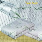 Soft Bamboo Cotton Waterproof Mattress Cover Protector 16'' Deep Hypoallergenic image