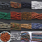 Kyпить Natural Gemstone Round Spacer Loose Beads 4MM 6MM 8MM 10MM Assorted Stones на еВаy.соm