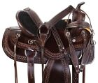 Used Western Saddle 18 17 16 15 Comfy Cowboy Western Trail Riding Horse Tack Set