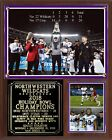 Northwestern Wildcats 2018 Holiday Bowl Champions Plaque