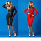 Neu Sexy Kleid KnieLang kleid Damen Mode Party Freizeit Sommer XS S M L 34 36
