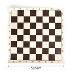 3 Size PU Leather Chess Board For Children's Educational Games Brown & White  eR