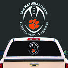 Clemson Tigers 2018 National Champs Vinyl Decal Sticker 10X8.5- BUY 2 GET 1 FREE