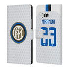INTER MILAN 2018/19 PLAYERS AWAY KIT GROUP 2 LEATHER BOOK CASE FOR HTC PHONES 1