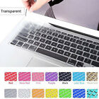 """Silicone Keyboard Skin Cover Case For Apple Macbook Pro 13"""" 15"""" Retina Air 11"""""""