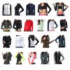 Zip-up Rash Guard Long Sleeve Women Available highly functional sports fabrics H
