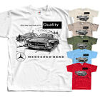 Mercedes Bezn Advert v2,car poster, T-Shirt (WHITE,RED,OLIVE) All sizes S-5XL  image