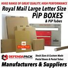 Postal Tubes Large Letter Size PiP Postage Mailing and Posting Cardboard Boxes