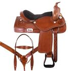 Used Endurance Saddle Western Pleasure Trail Horse Tack Set 15 16 17 18