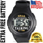 Best Quality Loud And Clear Speaking English Talking watch EXTRA BATTERY