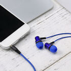 K1 Sports Music Earbuds Wired Bass Stereo Headset In-Ear Earphone For Phone Z6D6