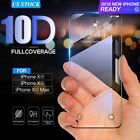 10D Full Cover Real Tempered Glass Screen Protector For IPhone X XS MAX XR US