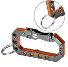 DITO Stainless Steel Survial Hiking Climbing Carabiner Outdoor Multifunctional B