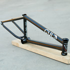 CULT BMX BIKE CHASE DEHART BICYCLE FRAME RAW SUNDAY STRANGER FIT