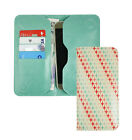 Textured PU Leather Magnetic Slim Wallet Case Cover Fits Evi Excellence55 Phone