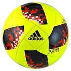 adidas 2018 World Cup Knockout Glider Solar Yellow Black Soccer Ball - Size 5
