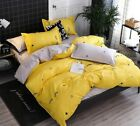 Cute Closed Sleeping Lovely Eyes Eyelash Bedding Set Dream Pillow Case Cover New image