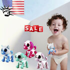 Smart Puppy Robotic Dog LED Eyes Sound Recording Sing Sleep Contact Cute Toy USA