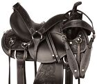 Trail Saddle 15 16 17 Classic Barrel Racing Racer Leather Western Horse Tack