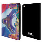 OFFICIAL P.D. MORENO CITIES LEATHER BOOK WALLET CASE COVER FOR APPLE iPAD