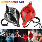 Kyпить Double End Speed Ball Boxing Dodge Bag MMA  Focus Punching Floor to Ceiling Rope на еВаy.соm