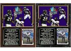 Ed Reed 2019 Pro Football Hall of Fame Photo Card Plaque $28.95 USD on eBay