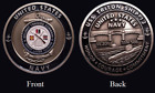 ~ USS Triton ~ Ship 12 ~ US Navy Recruit Training Command Challenge Coin ~