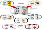 Personalized Mugs 7 Ceramic Mugs to Choose From Customized Photo Text Mug New image