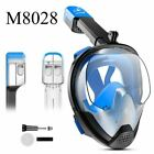 Full Face Snorkeling Mask Set Diving Mask Underwater Swimming Training Scuba div