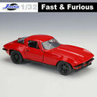 JADA Fast & Furious 1:24 1:18 1:32 Diecast Car Model Toys With Case For Boy&Girl