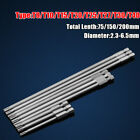 """Torx Magnetic Screwdriver Drill Bits T8-T40 75-200mm Long Reach 1/4"""" Hex Shank, used for sale  Shipping to Canada"""