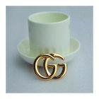 Women's Fashion Brooch/Pin Clothes Accessory Matel and Shinny Finish 2X1.6inch