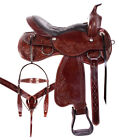 Used Western Saddle 15 16 17 18 Comfy Endurance Pleasure Ranch Trail Horse Tack