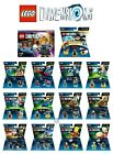 LEGO DIMENSIONS STORY, LEVEL AND FUN PACKS PS3 PS4 XBOX 360 XBOX...