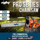 MTM Petrol Chainsaw Commercial E-Start Bar Tree Pruning Chain Saw Top Handle