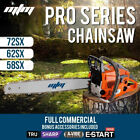 MTM Petrol Chainsaw Commercial E-Start Bar Tree Pruning Chain Saw 58/62/72/82CC