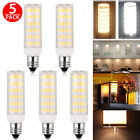 5pcs E11 Halogen Mini Candelabra 60W Equivalent Warm Light White Lighting Bulbs